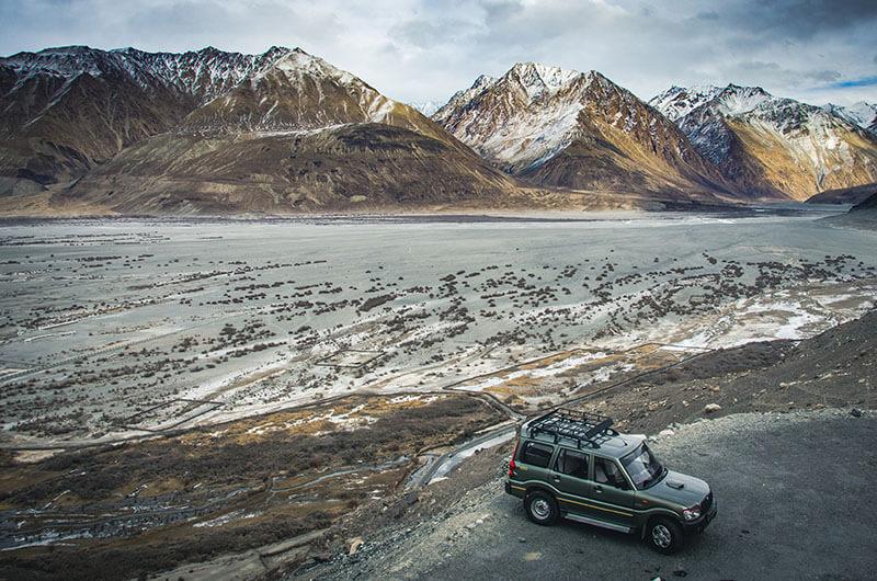 Frozen Desert in ladakh
