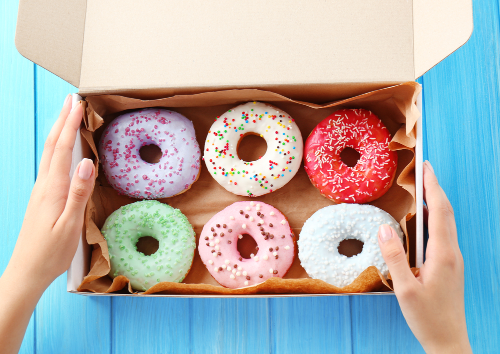 Donuts Female Hands