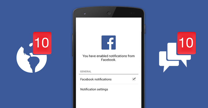 How to resolve Facebook notification not working on Andriod