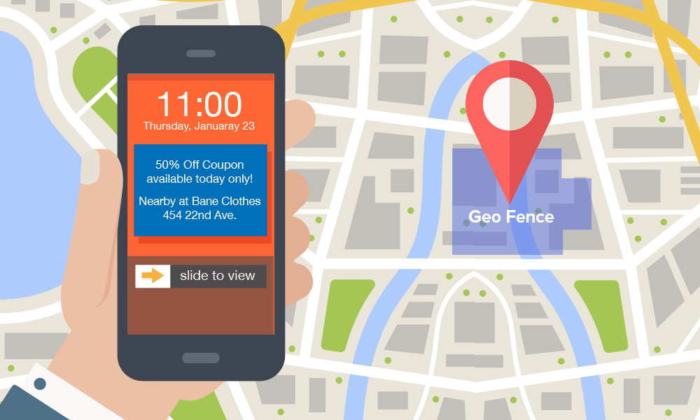 GEO-FENCING: A UNIQUE WAY TO BOOST THE SMALL SIZE FIRMS