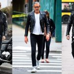 style with leather jackets