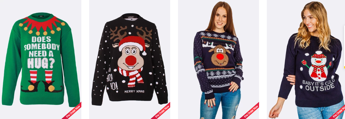 Cool and Trendy Women Jumpers For Christmas