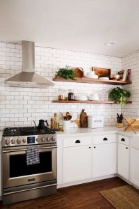 03 Rustic Kitchen with Subway Tiles