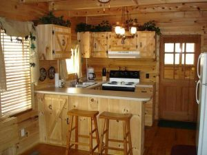 10 Tiny Wooden Kitchen