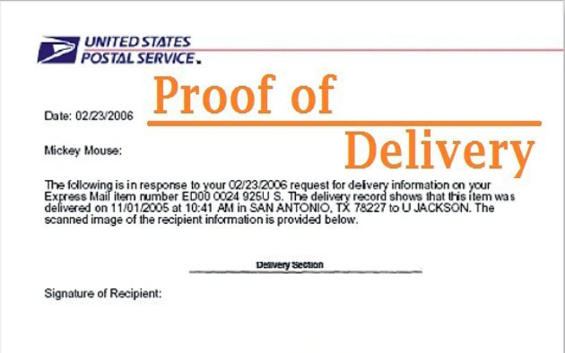 The Perfect Guide of USPS Proof of Delivery and Document Tracking Confirmation