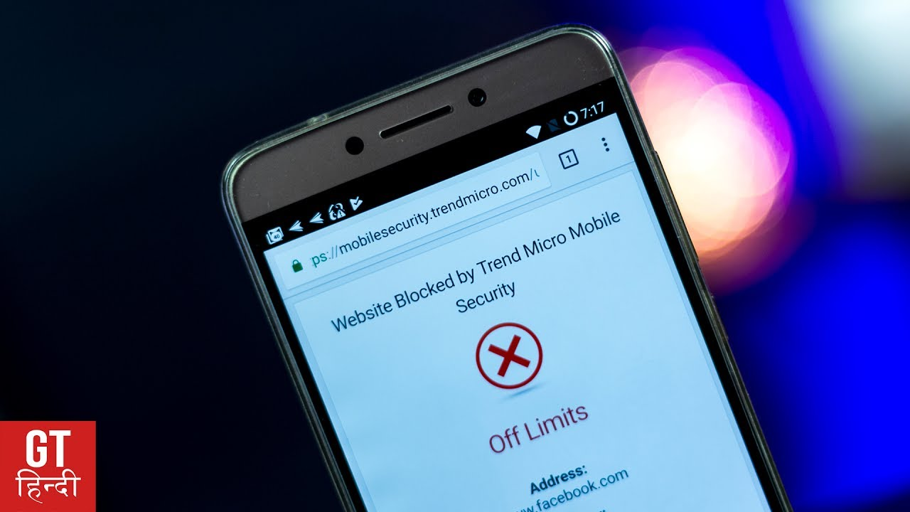 how to block inappropriate websites on android